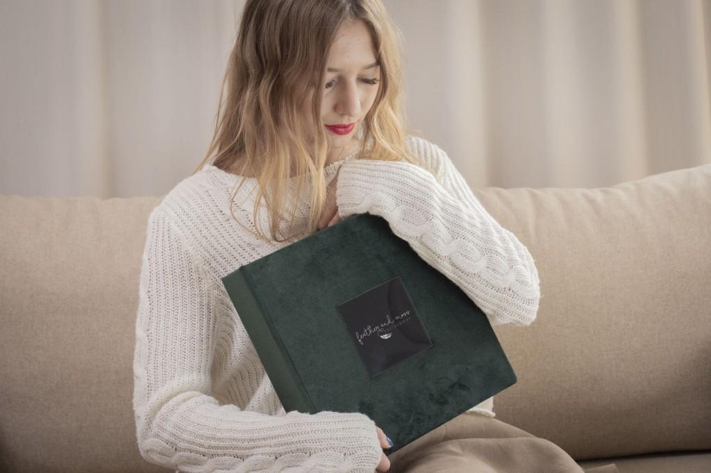 Folio Box Deep Green Cover