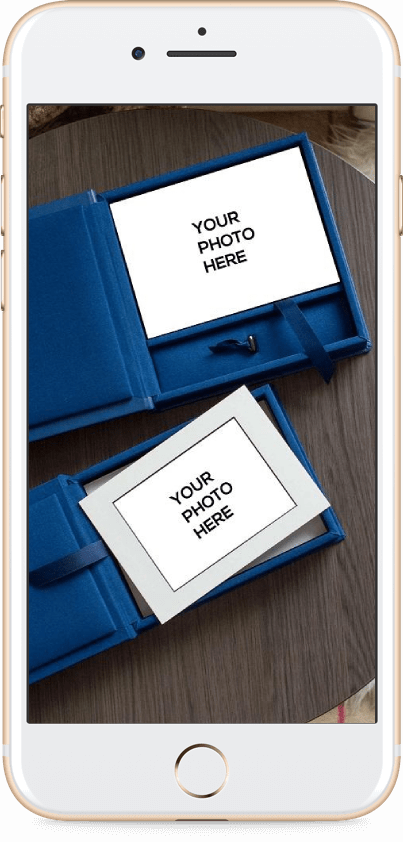 Download free Folio Box mockups for photographers