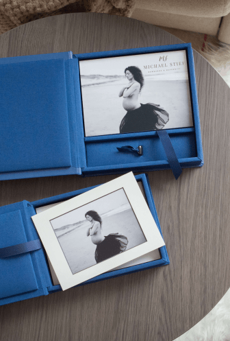 Matted or Board Mounted Folio Prints in Folio Boxes