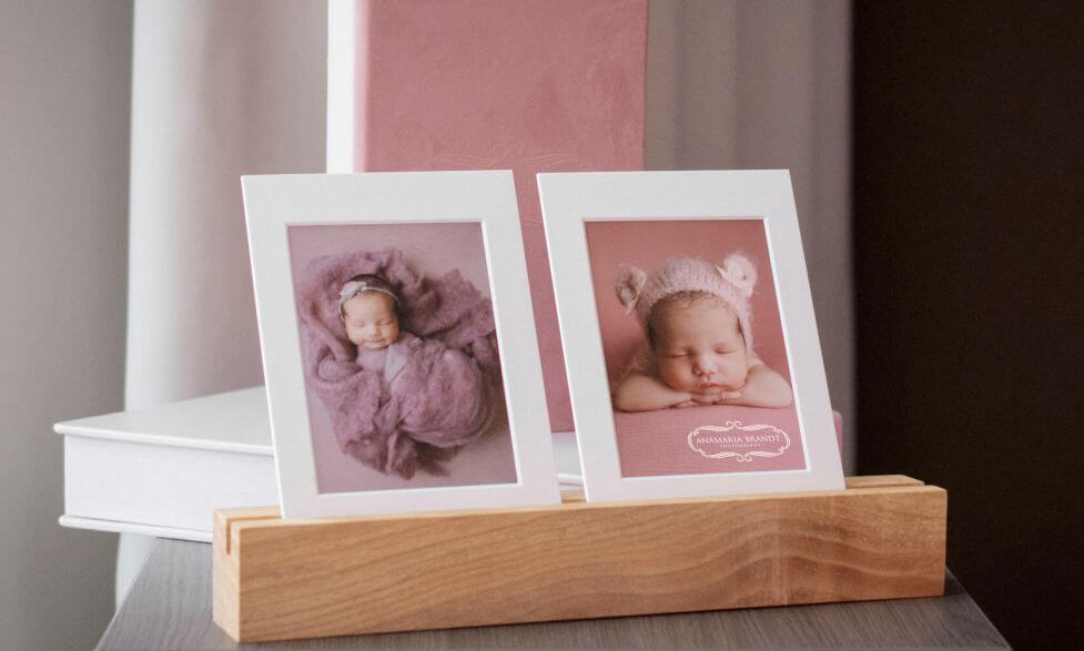 Matted Prints for Newborn Photographers