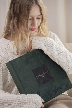 Folio Box Materials - Velvet and Suede textiles