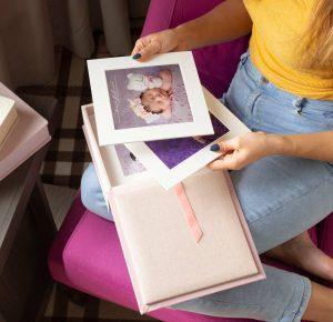 Folio Box Materials - Pastel Shades